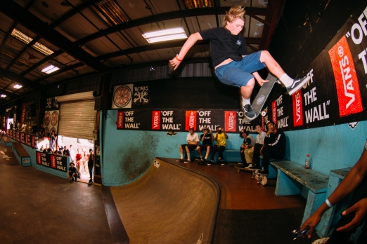 Jake Wooten, Footplant to Fakie