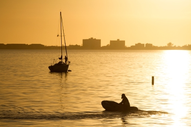Golden Hour, Gulfport, FL.